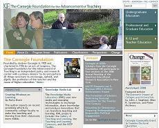 卡耐基提昇教學基金會網頁